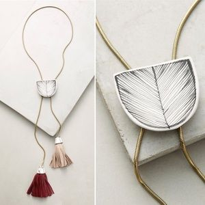 ANTHROPOLOGIE Hard to find! Oraibi Bolo Necklace